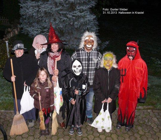 Halloween in Krastel 2013