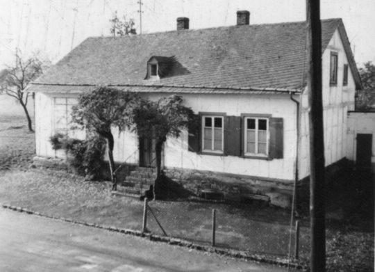 Krasteler Schule ende der 1950er Jahre