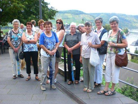 Foto: M. Dorra Nachmittagsausflug der Krasteler Landfrauen am 25.08.2011 nach  Beilstein